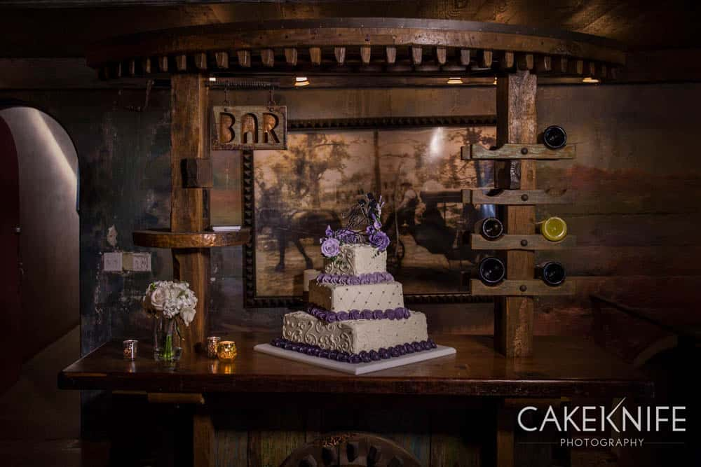 Wedding Cake at the Dunafon Castle