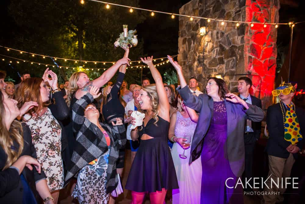 Wedding dance at the Dunafon Castle